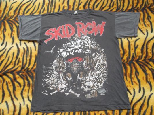 Vintage Skid Row 1991 Promo Tour T-shirt