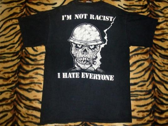VINTAGE S.O.D STORMTROOPERS OF DEATH PUSHEAD DESIGN T-SHIRT