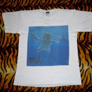 VINTAGE NIRVANA 1991 'NEVERMIND' SCREEN STARS T-SHIRTS