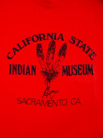 Vintage California State INDIAN MUSEUM 50/50 T-shirt