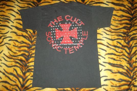 VINTAGE THE CULT 1989/90 SONIC TEMPLE TOUR T-SHIRT