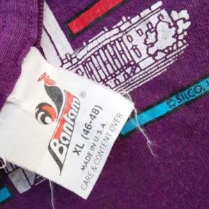 Vintage Washington D.C Rainbow Travel T-shirt Bantam 50/50