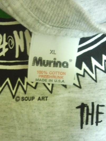 SOUP DRAGONS 1991 HOTWIRED PROMO ALBUM T-SHIRT