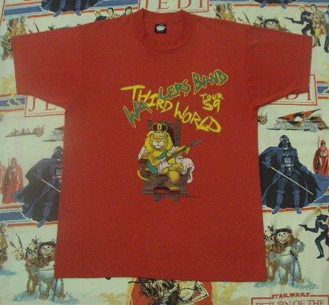 VINTAGE 1989 THE WAILERS THIRD WORLD TOUR T SHIRT