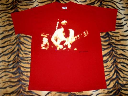 Paul Weller Early 90's 3D Red T-shirt