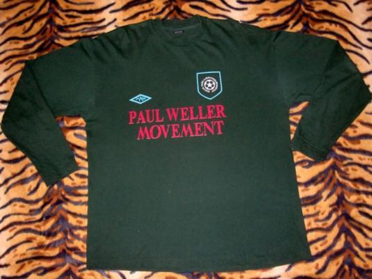 Vintage Paul Weller 1993 Wild Wood Tour LS T-shirt