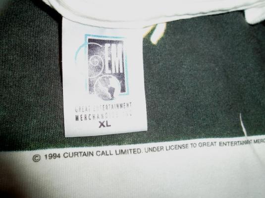 VINTAGE THE CRANBERRIES WORLD TOUR PROMO 1994-95 T-SHIRT