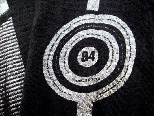 VINTAGE BLUR PARKLIFE 1994 PROMO TOUR T-SHIRT