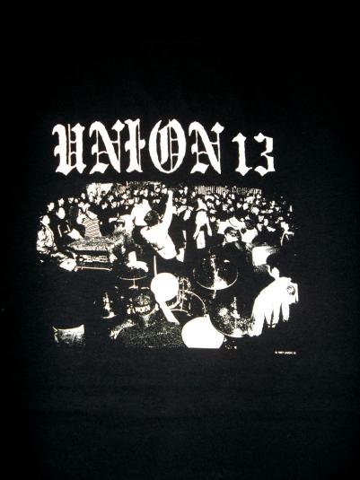 UNION 13 PROMO ALBUM 1997 90s T-SHIRT