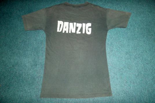 VINTAGE DANZIG 1988 PROMO TOUR T-SHIRT