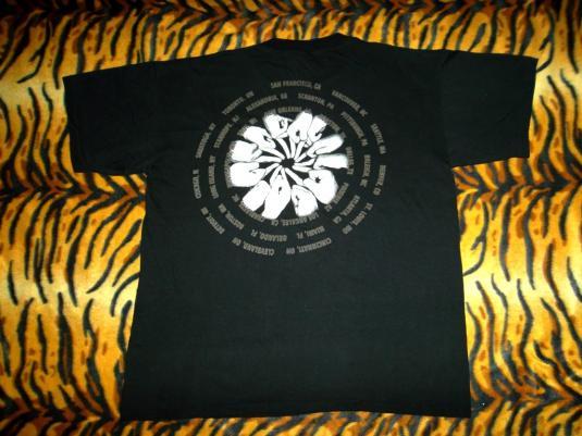 Soundgarden 1992 Concert Tour T-shirt