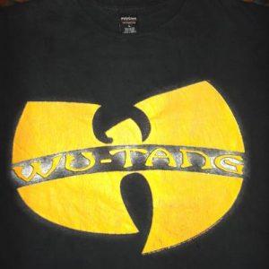 WU TANG 1992 Polygram Hip Hop Rap T-shirt