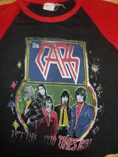 VINTAGE THE CARS 78′ JERSEY T-SHIRT