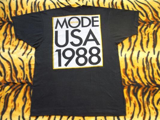 VINTAGE DEPECHE MODE 1988 USA TOUR T-SHIRT
