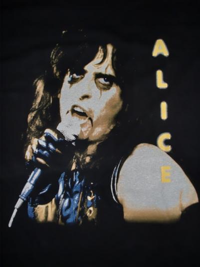 VINTAGE 1991 ALICE COOPER TOUR T-SHIRT