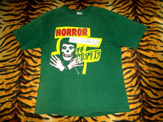 THE MISFITS 90s HORROR BUSINESS T-SHIRT