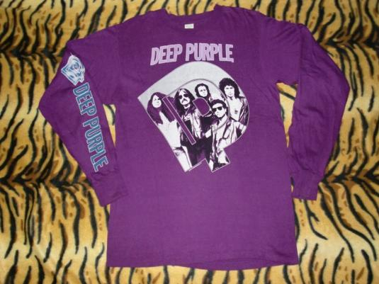 DEEP PURPLE DEADSTOCK 1985 PERFECT STRANGERS LST-SHIRT