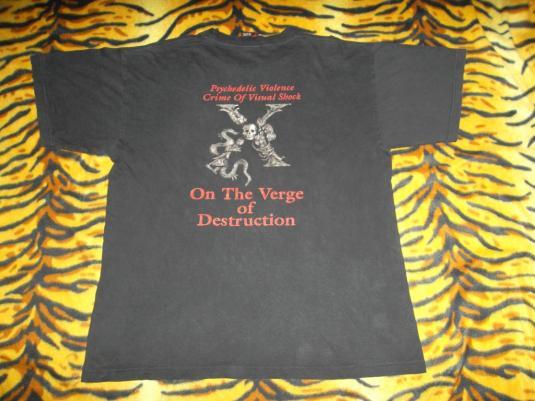 VINTAGE 1996 X JAPAN PROMO TOUR T-SHIRT