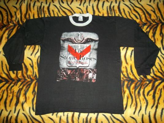 VINTAGE THE STONE ROSES 1994 LOVE SPREADS PROMO TOUR T-SHIRT