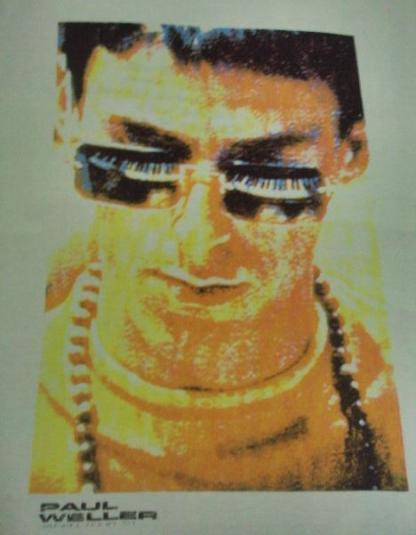 VINTAGE PAUL WELLER 1991 DEBUT TOUR T SHIRT