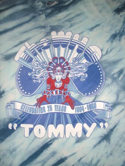 Vintage The Who 1989 'Tommy' Celebrating 25 Years T-shirt XL