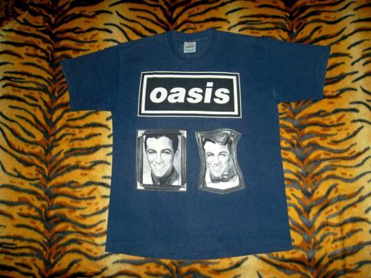 OASIS 1994 TOUR CONCERT BRITPOP INDIE ROCK T-SHIRT RARE