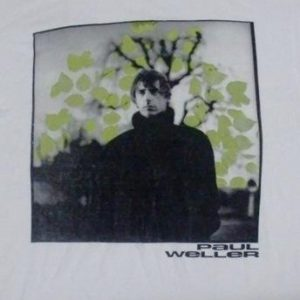 Paul Weller 1995 'Out Of The Sinking' Single promo T-shirt