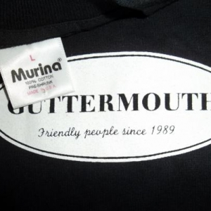 VINTAGE GUTTERMOUTH 1990s PROMO T-SHIRT