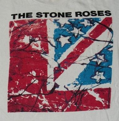Vintage 1989 The Stone Roses Waterfall Promo T-shirt