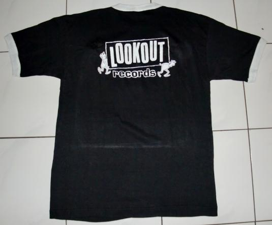 VINTAGE 1989 OPERATION IVY LOOKOUT RECORDS T-SHIRT