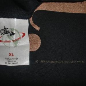 JANET JACKSON 1993 WORLD TOUR T-SHIRT