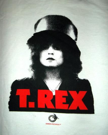 Vintage T-Rex Marc Bolan Early 90s Promo T-Shirt Rare