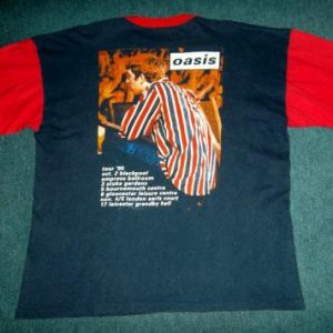 VINTAGE OASIS 1995 PROMO TOUR T-SHIRT
