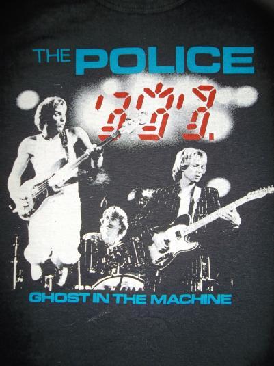 The Police 1981 Winter U.K TourT-shirt