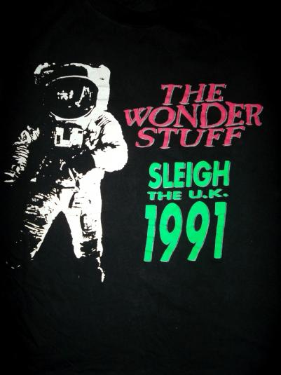 THE WONDER STUFF 1991 CONCERT TOUR T-SHIRT