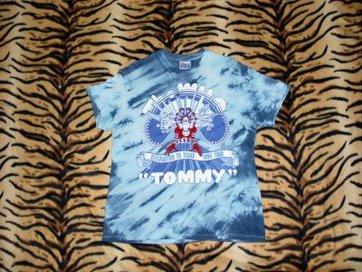 The Who 1989 'Tommy'Celebrating 25 Years T-shirt Large