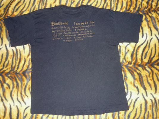 RADIOHEAD 1993 'POP IS DEAD' T-SHIRT