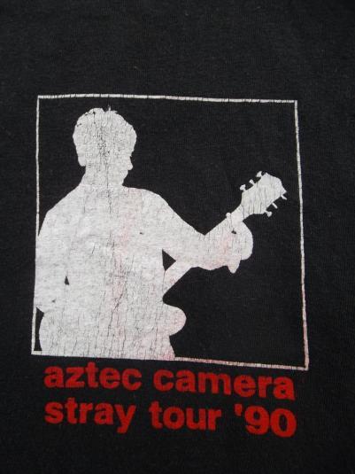 VINTAGE AZTEC CAMERA 1990 TOUR CONCERT T-SHIRT