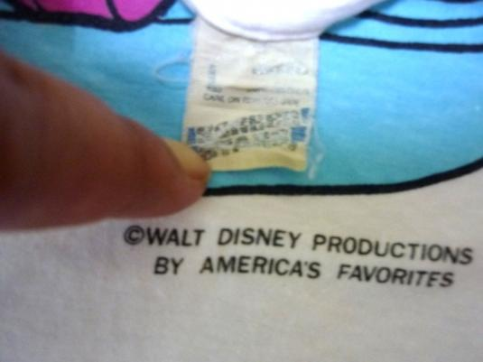 Vintage Donald Duck And Daisy Disney Early 80s T-shirt