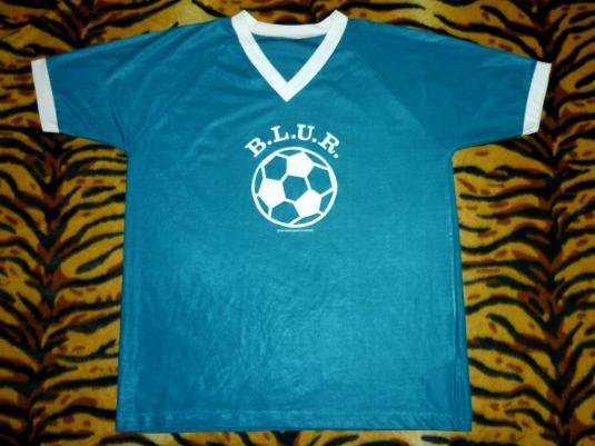 BLUR 1995 MILE ENDERS FOOTBALL JERSEY T-SHIRT