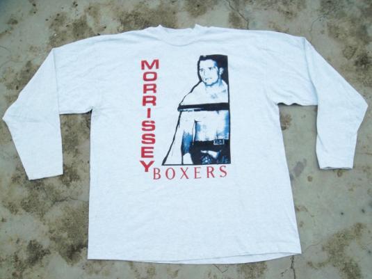 VINTAGE MORRISSEY BOXERS 1995 TOUR T-SHIRT