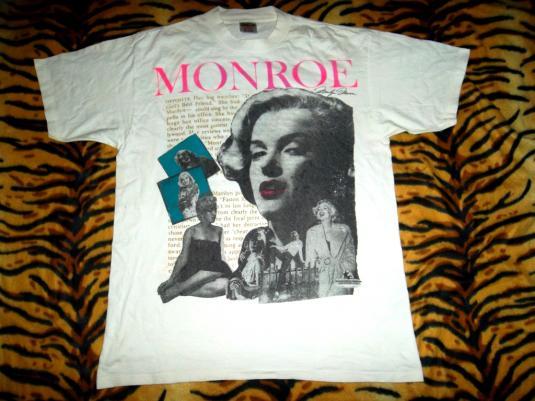 VINTAGE MARILYN MONROE 1990s PROMO MOVIE FILM STAR T-SHIRT