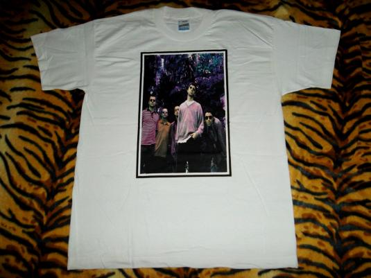VINTAGE OASIS 1997 1990s BE HERE NOW T-SHIRT