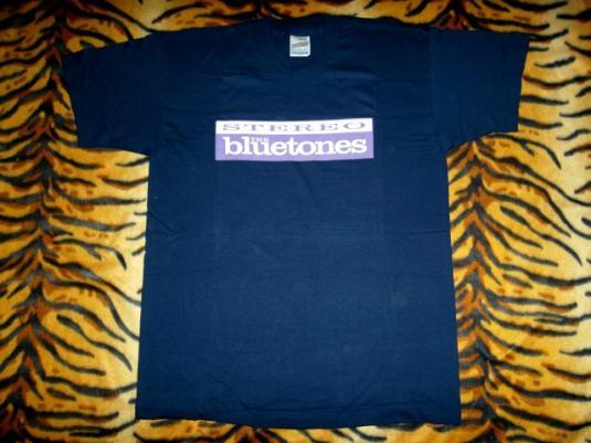 VINTAGE THE BLUETONES 1990s PROMO TOUR T-SHIRT
