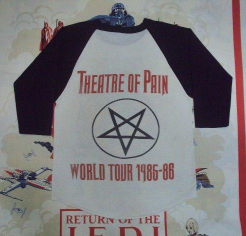 Vintage 1985 MOTLEY CRUE Allister Fiend Tour Jersey