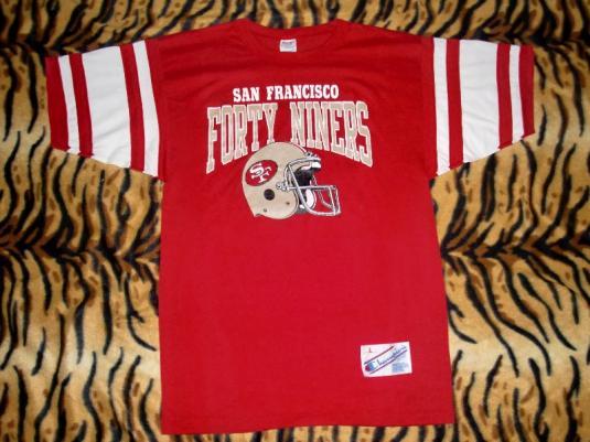 SAN FRANCISCO 49ERS CHAMPION T-SHIRT