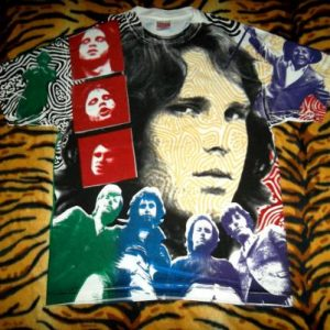 Vintage The Doors Allover Print T-shirt