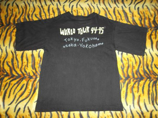BILLY JOEL WORLD TOUR 94-95 CONCERT T-SHIRT