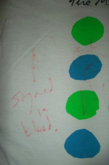 VINTAGE THE MOCK TURTLES 1990 SIGNED T-SHIRT