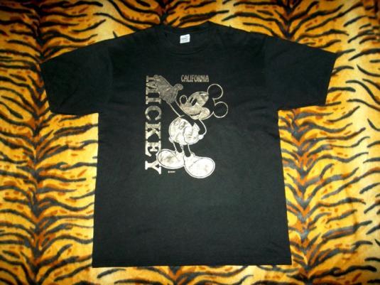 Mickey Mouse Disney 80s Velva Sheen T-shirt